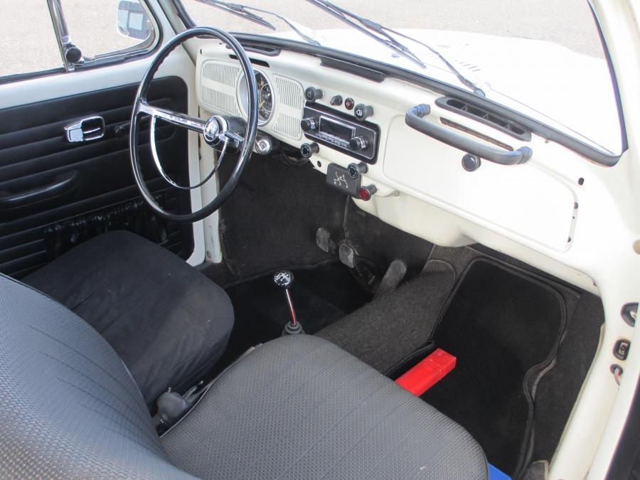 Verkocht! VW Kever oldtimer Wit